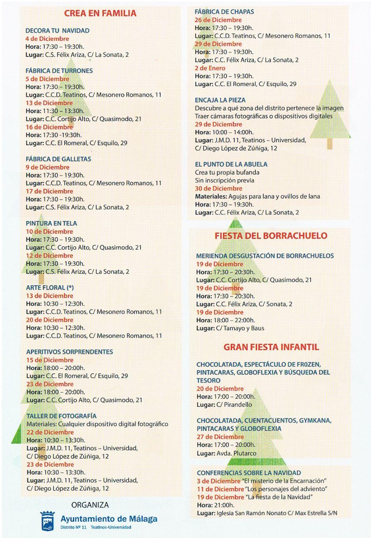 Navidad 2014 en Teatinos